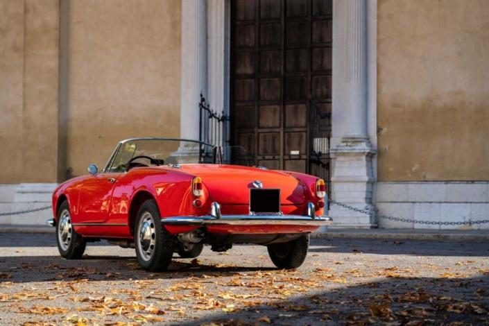 Alfa Romeo Giulietta Spider 1960