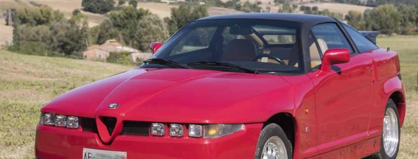 Alfa Romeo Sprint Zagato SZ 1991
