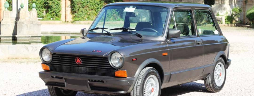 Autobianchi A112 Abarth Maquillage 82